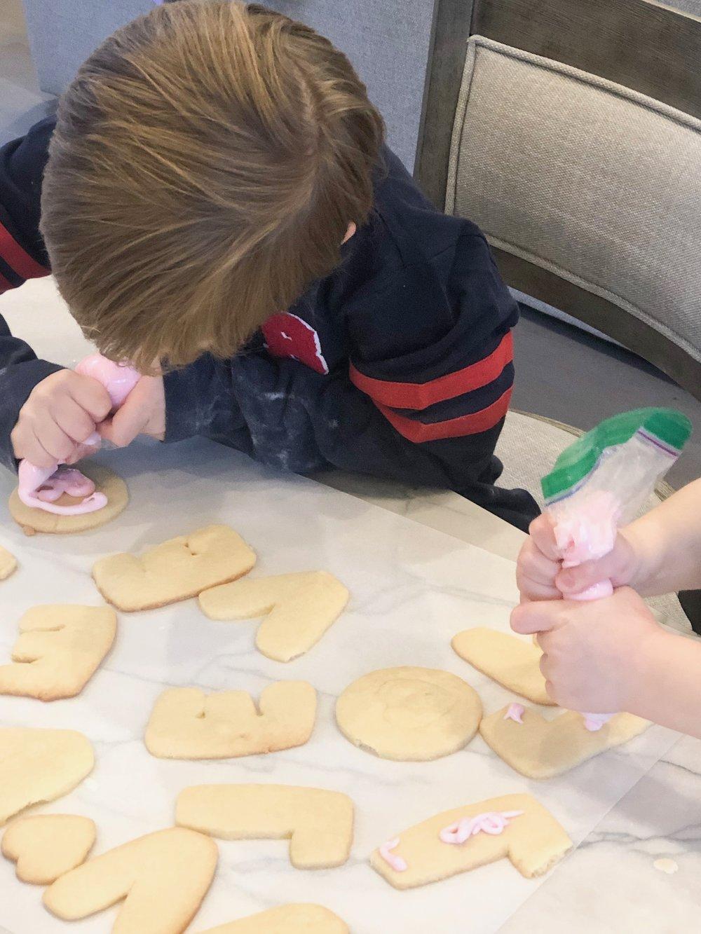 cookies boys decorating.JPG