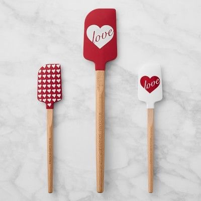 Williams-Sonoma Valentine's Day Spatulas