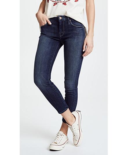8. MOTHER Looker Crop Skinny Jeans