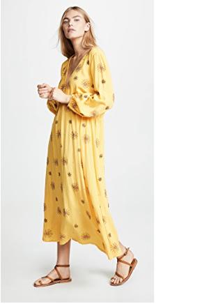 26. SUNDRESS Chicago Long Cover Up Dress