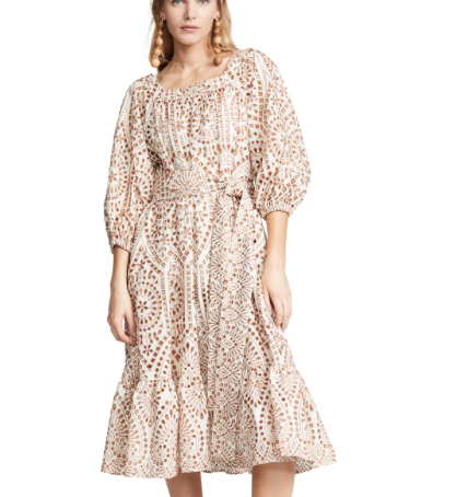 32. Lisa Marie Fernandez Laure Eyelet Dress