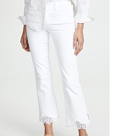 34. J Brand Selena Mid Rise Crop Jeans