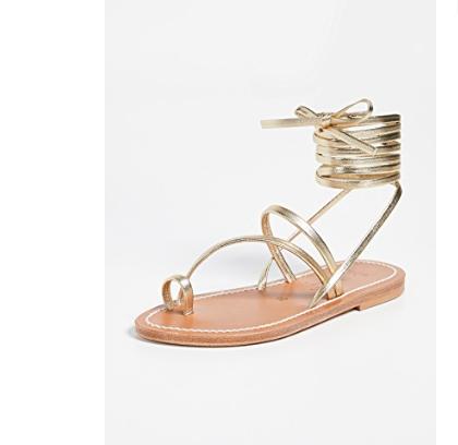 44. K. Jacques Ellada Wrap Sandals