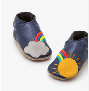 Leather Rainbow Shoes