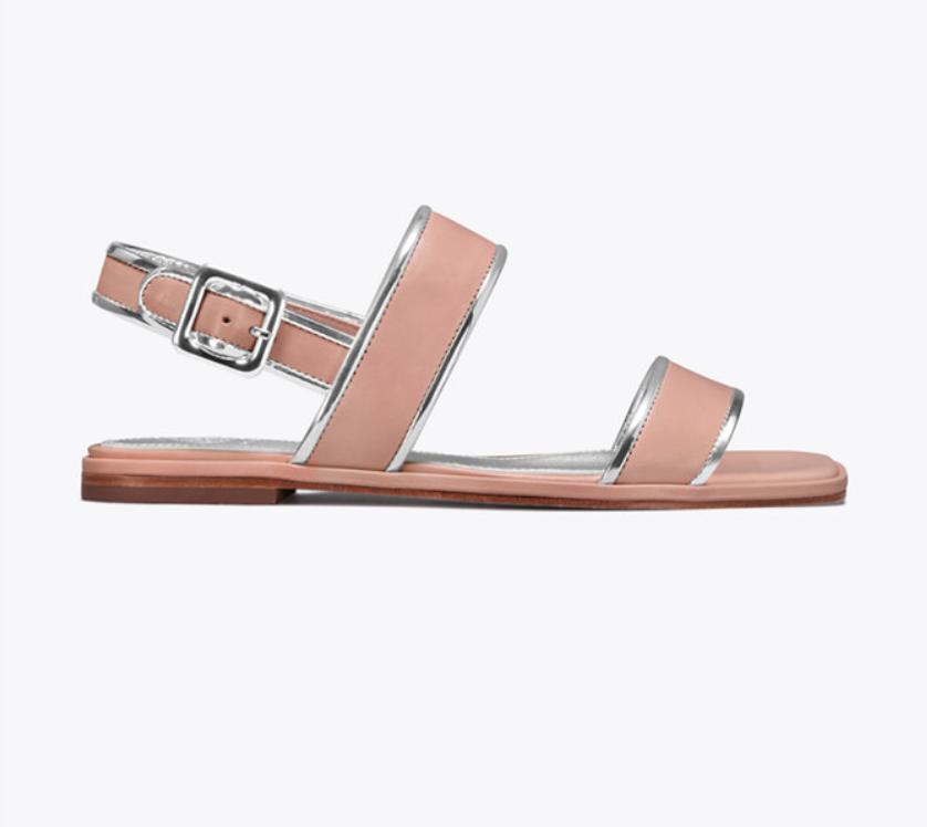 Delaney Flat Sandal