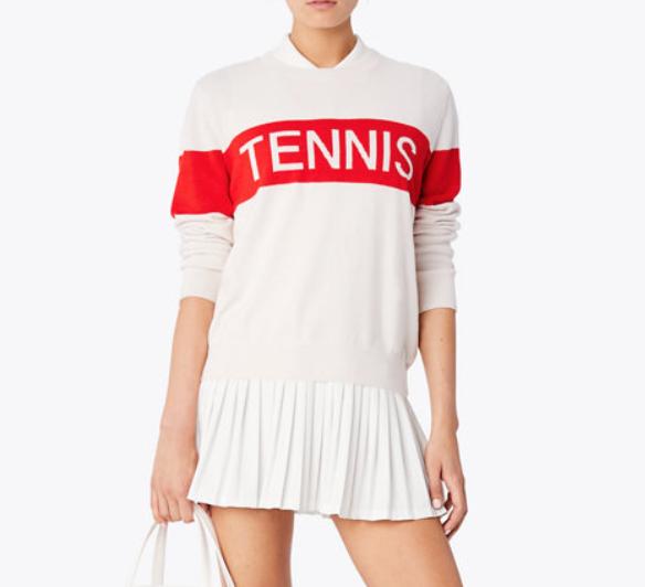Performance Cashmere Tennis Sweater
