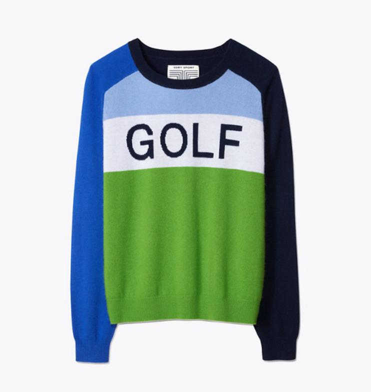 Cashmere Golf Sweater
