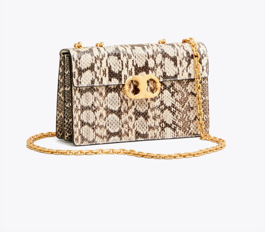 Gemini Link Snake Small Chain Shoulder Bag