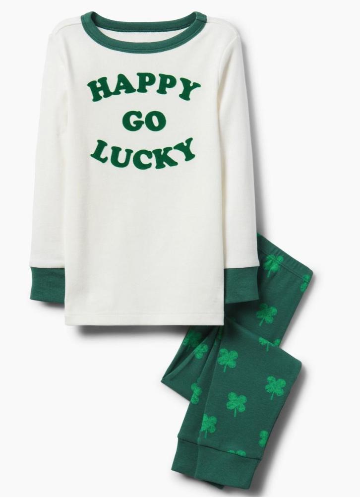 Gymboree Happy Go Lucky Pajamas 2-Piece -