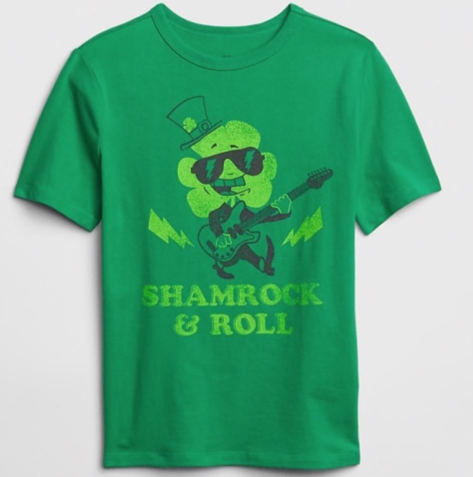 Gap Kids Graphic Short Sleeve T-Shirt -