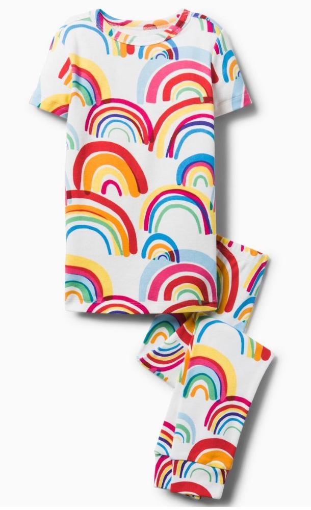 Gymboree Rainbow Pajamas 2-Piece -