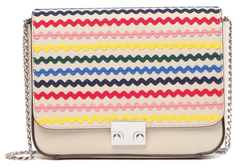 Loeffler Randall Rainbow Leather Shoulder Bag -