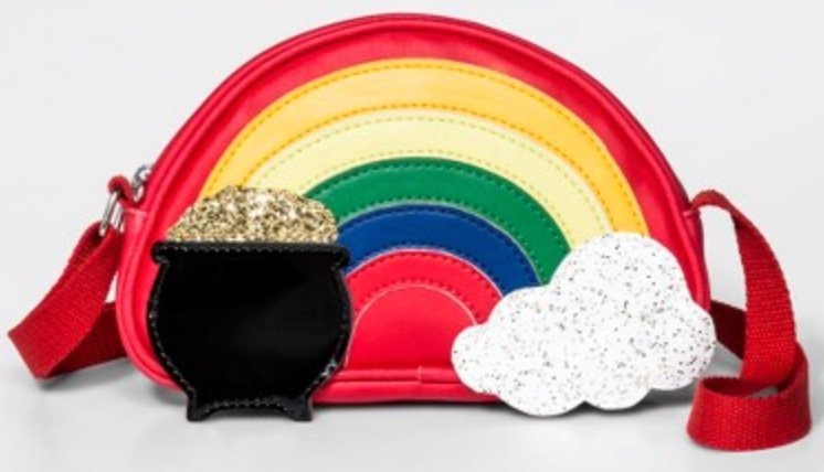 Target Girls Rainbow Crossbody Bag -