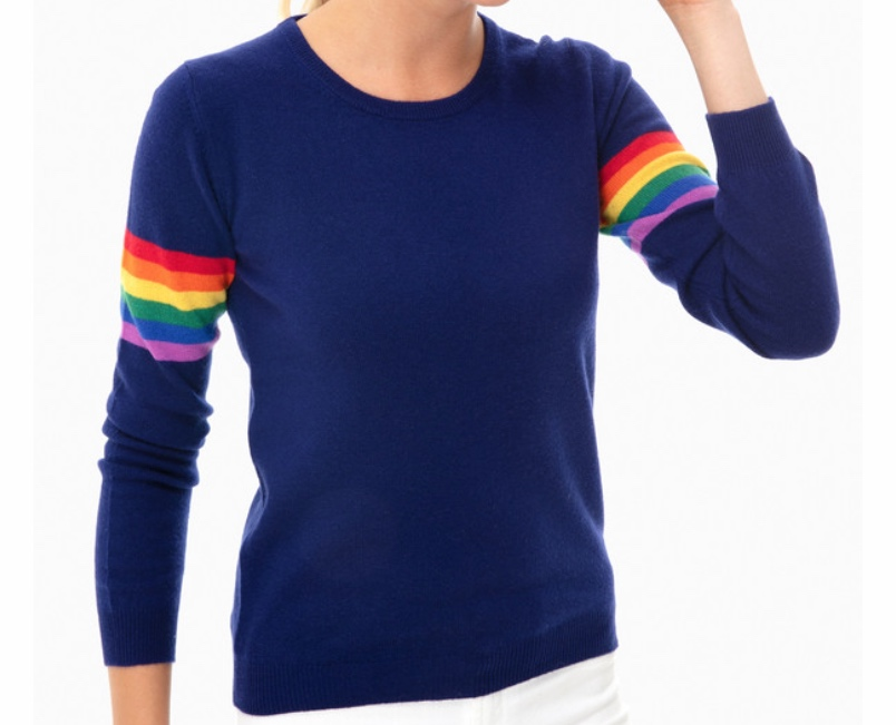Jumper 1234 Rainbow Arms Cashmere Sweater -