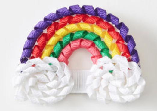 Hanna Andersson Favorite Things Rainbow Hair Clip -