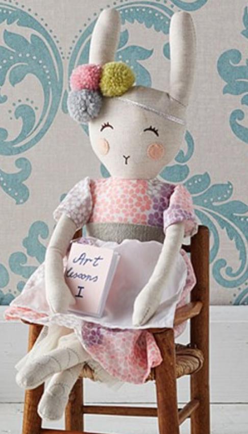 Pottery Barn Mini Designer Doll Ellie -