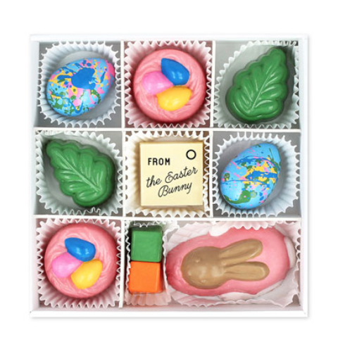 Maggie Louise 9-Piece Easter Morning Chocolate Box -