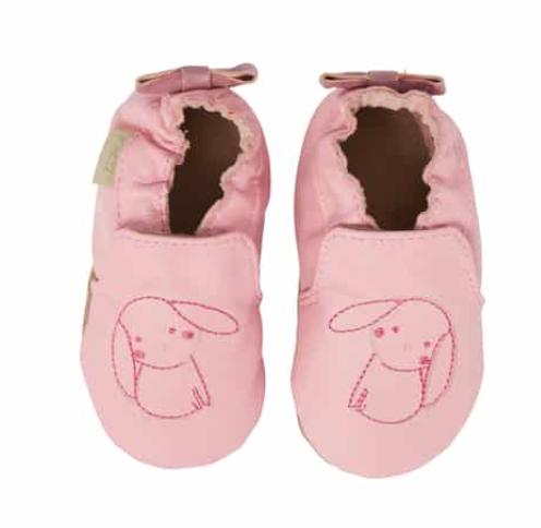 Sweet Bunny Moccasin Crib Shoe -