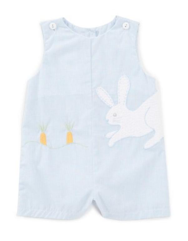 Baby Boys 3-24 Months Bunny Sleeveless Shortall -