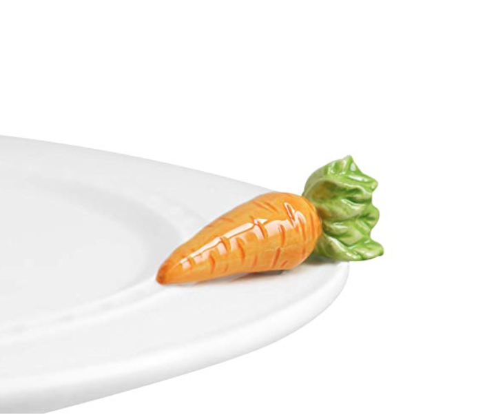 Nora Fleming Hand-Painted Mini: 24 Carrots -