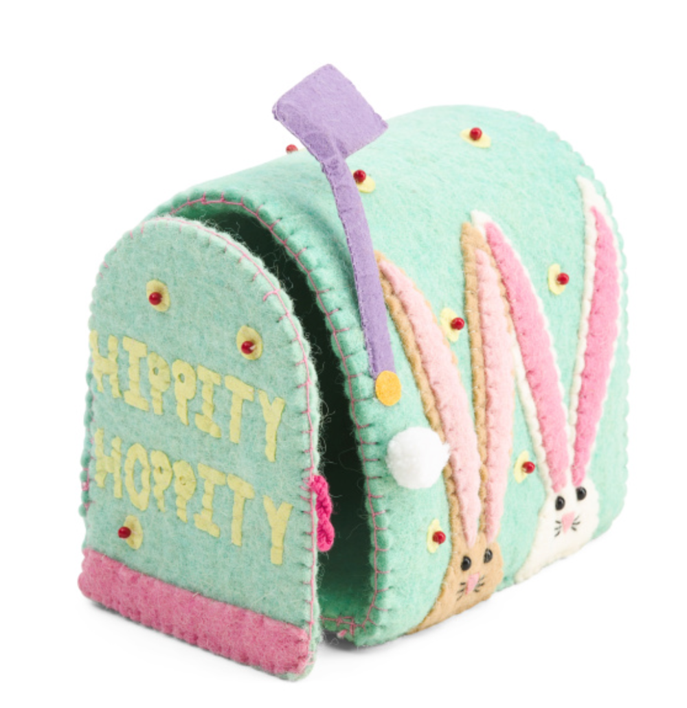 8.5in Easter Mail Box -