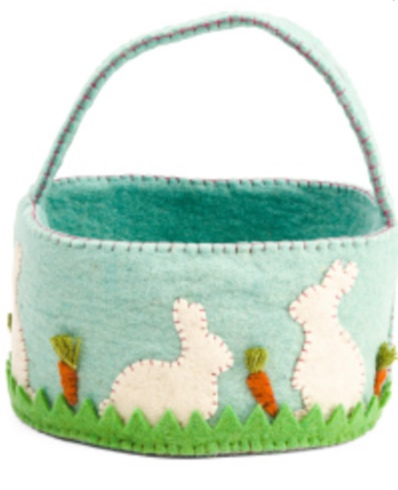 10-inch Bunny Patch Basket -