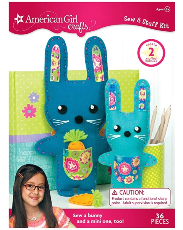Bunnies Sew & Stuff Kit by American Girl Crafts -