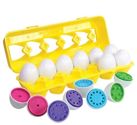 Kidzlane Color Matching Egg Set -