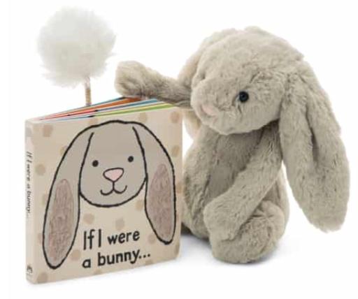 'If I Were a Bunny' Board Book & Stuffed Animal -