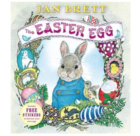 The Easter Egg book by Jan Brett -