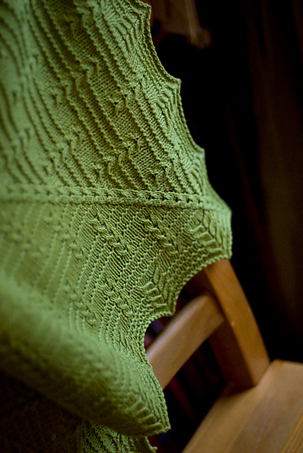 Stoneleaf Shawl | Quince & Co.