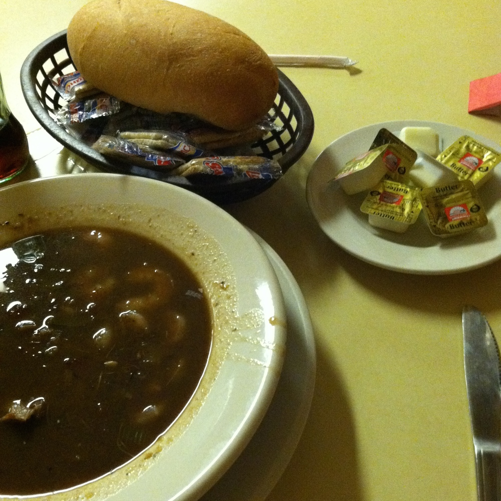 we started with gumbo because that's how we do.
