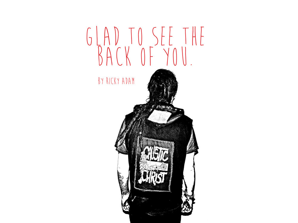 GLAD TO SEE THE BACK OF YOU - 'Zine:A Zine' all about punk jacketsThis is the West Yorkshire, U.K. 2013 editionPublished by TrajectoriesA5, 48 pages, full colourdigitally printed, perfect bound, Cover - 300gsm, Inside paper - 150gsm300 first edition copies*First 50 purchased get a free metal stud*This item is sold out