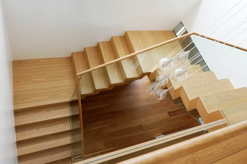 We Built This Statement Staircase For A Beautiful Modernist Home Designed  By Architect Simon Winstanley In