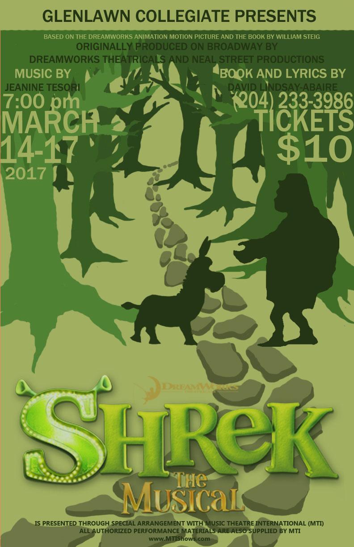Glenlawn Collegiate's Shrek the Musical