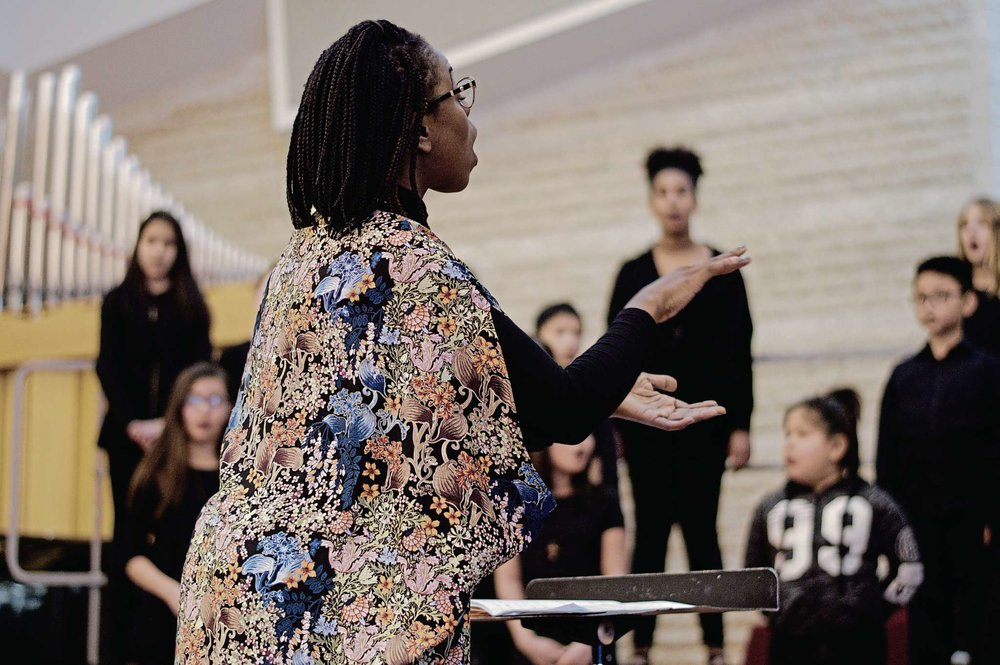 Resound, Isaac Brock Middle School, directed by Nedra Francis