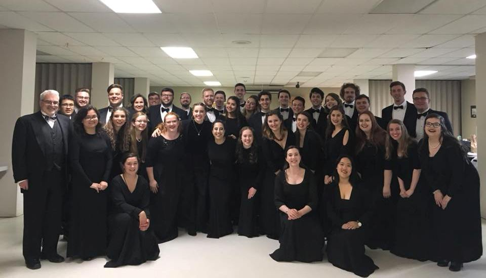 National Youth Choir 2018 under the direction of Jeff Joudrey
