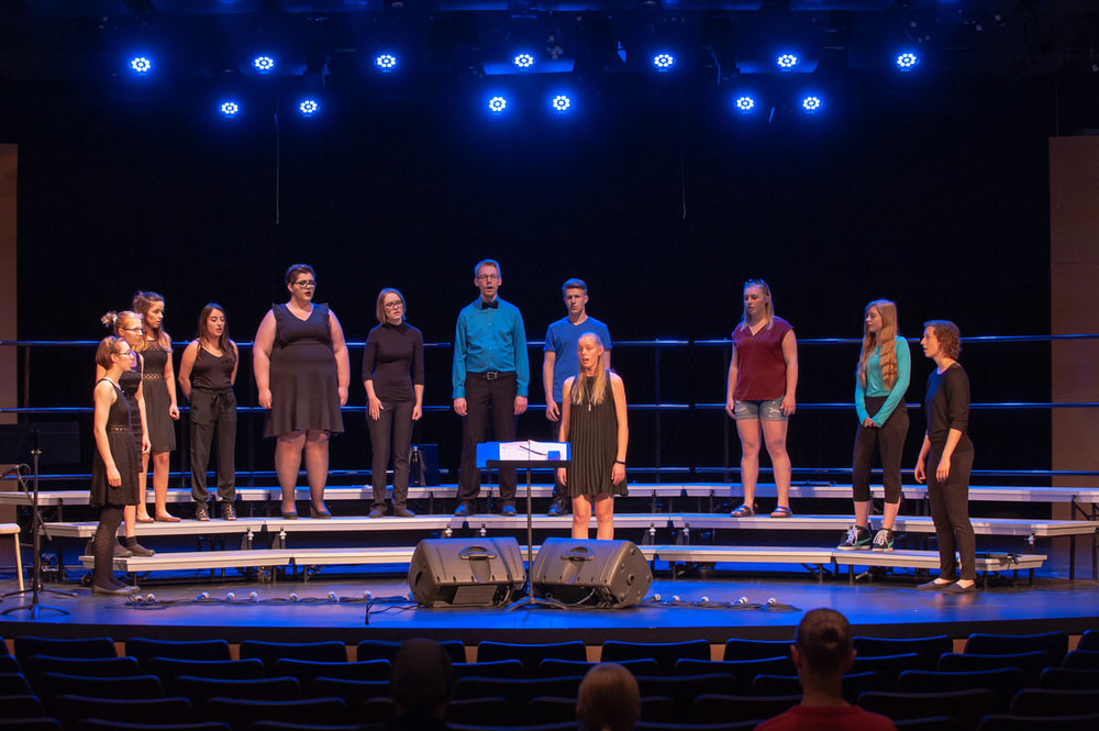 Prairie Soundscape 2018 performs at the PW Enns Centennial Hall, Winkler