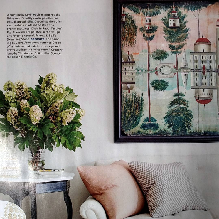 Detail, Interior Design, as featured in House Beautiful magazine