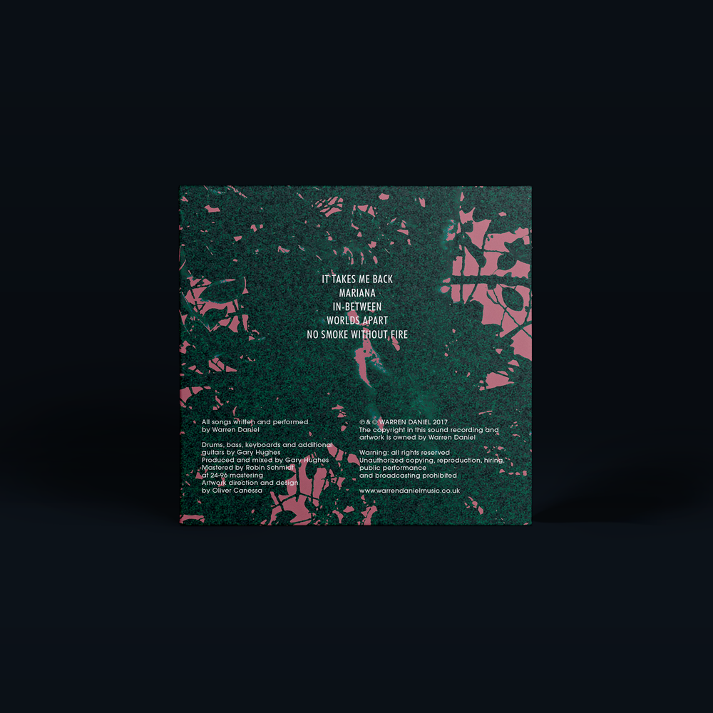 Mariana EP | Back Cover