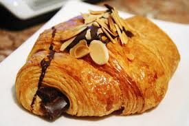 Chocolate croissant, my son's favorite (image via Flickr)