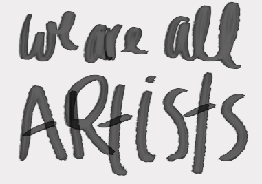 You are creative! It's not a skill it's a tool and we all have access to it. Read more on what I believe.