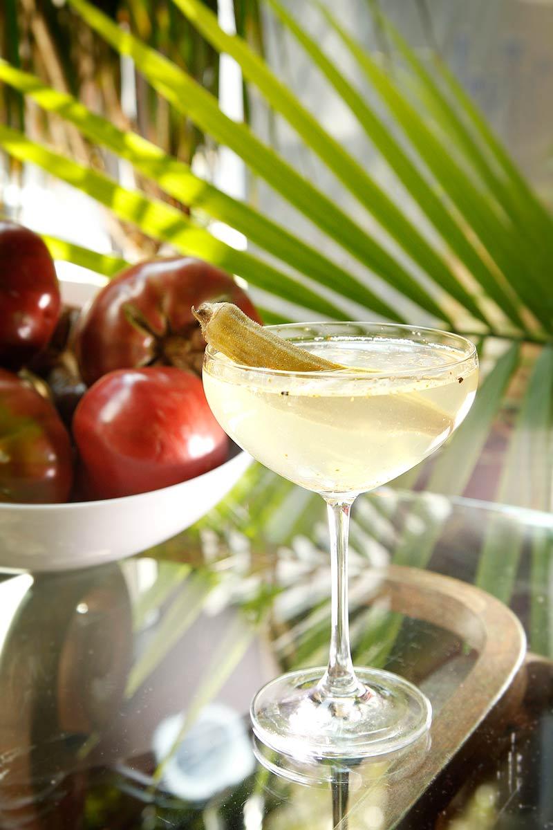 Tomato Water Martini