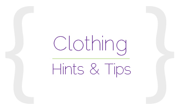 What to wear tips!