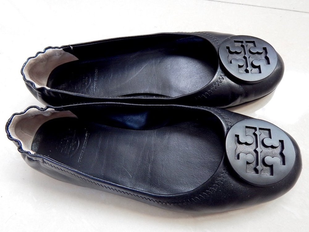 8a016916c5a Tory Burch Minnie travel ballet flats review — Simply Li