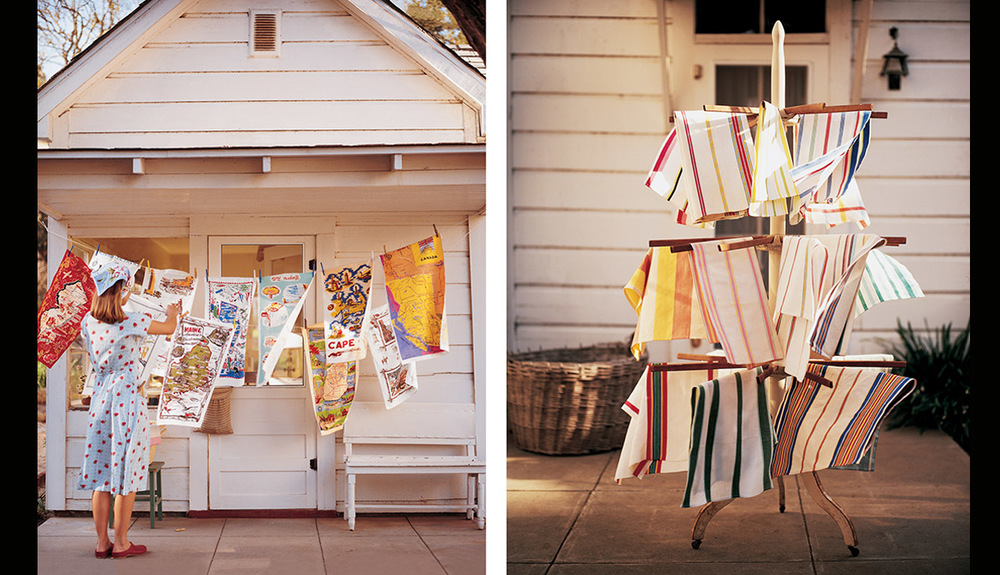 Collecting Vintage Dishtowels