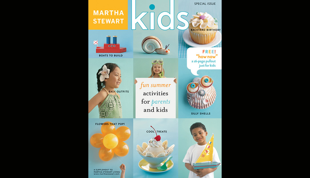 Martha Stewart Kids Summer Cover