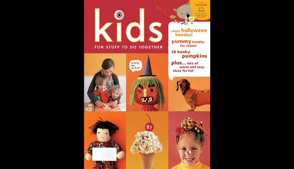 Martha Stewart Kids October Cover