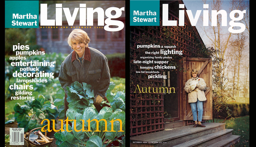 Martha Stewart Living Autumn Covers