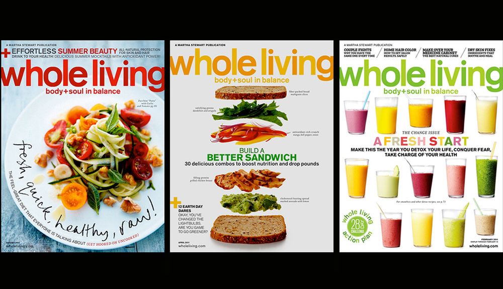 Whole Living Covers